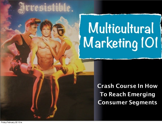 Multicultural                           Marketing 101                             Crash Course In How                     ...