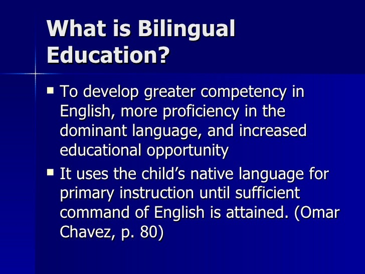 the advantages of bilingual education in Is a student's mother tongue a help or a hindrance when learning english here are all the advantages and methods for the bilingual method of teaching english.