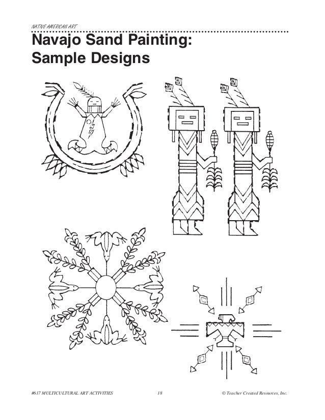 navajo sand painting coloring pages - photo#12