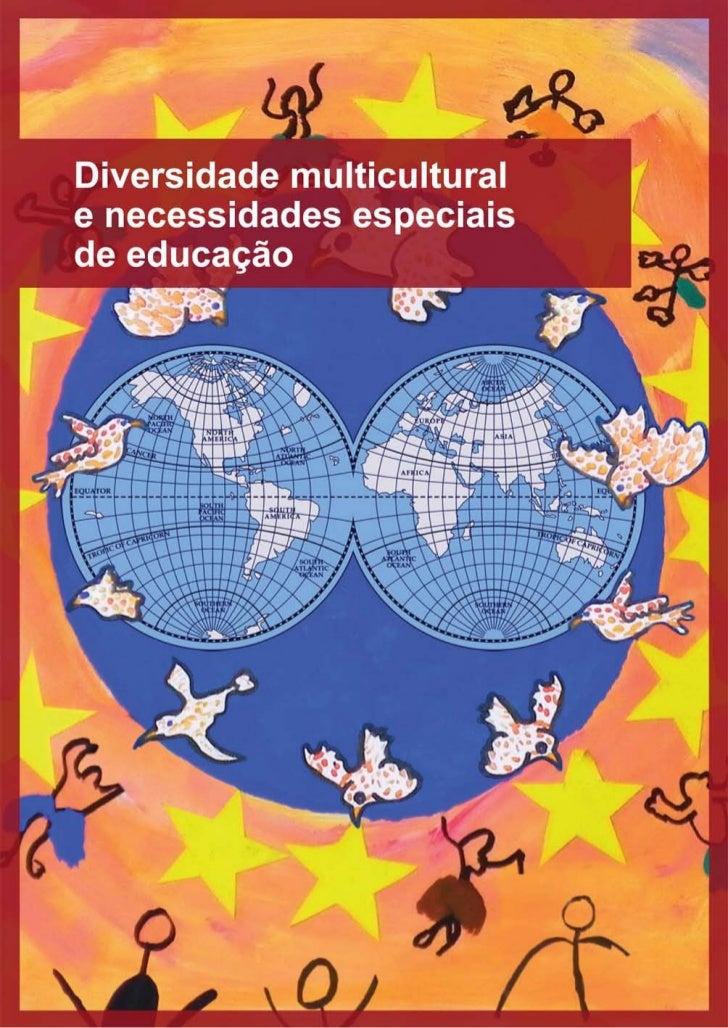 DIVERSIDADE MULTICULTURAL               E   NECESSIDADES ESPECIAIS DE           EDUCAÇÃO                  RELATÓRIO SÍNTES...