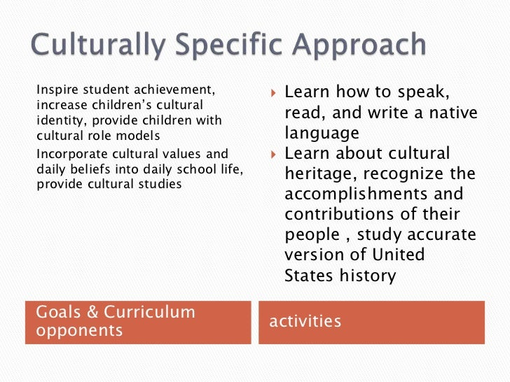 culturally relevant and anti bias education approach The powerpoint ppt presentation: ede 735 the antibias curriculum in early childhood education is the property of its rightful owner do you have powerpoint slides to share if so, share your ppt presentation slides online with powershowcom.