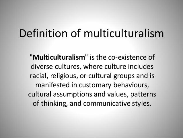 Multiculturalism Slide 2