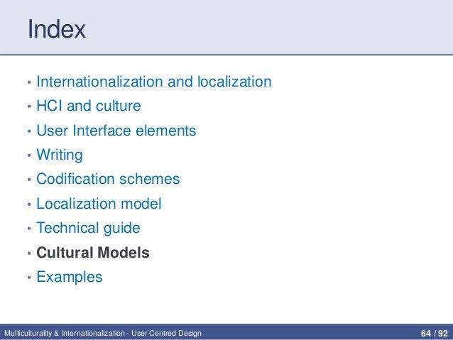 Multiculturality & internationalization