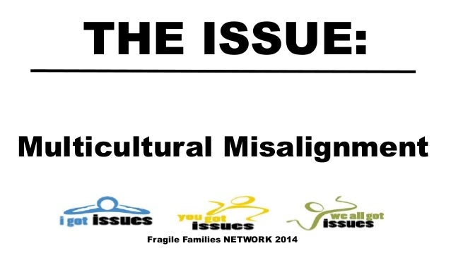 Multicultural Misalignment THE ISSUE: Fragile Families NETWORK 2014