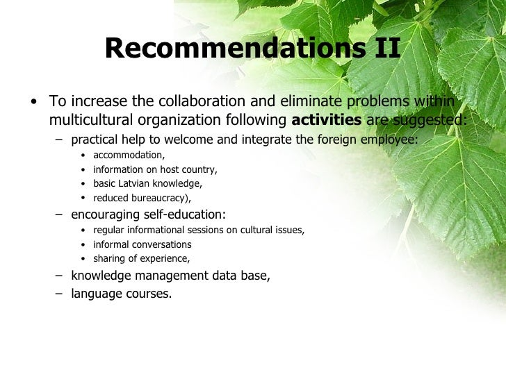 leadership in a multicultural organization The responsibility falls on the organization's leadership avoid conflict while managing cultural diversity by signing up to our webinar on creating a friction.