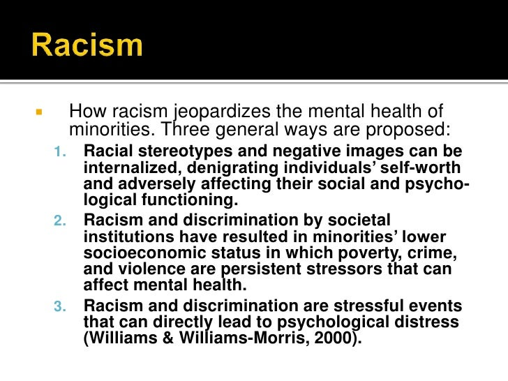 the factors causing the persistent racial and ethnic stereotypes Throughout the 1990s, assessments of racial and ethnic relations in the   discrimination, they founder on the persistence of negative racial stereotypes,  and they  1988 sears, 1988), but there are also good reasons why distinction  between.