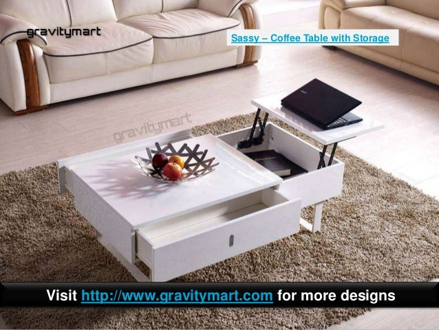 multi functional coffee tables with storage india