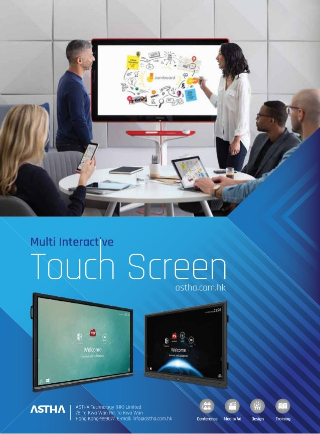 ASTHA TS Series Multi interactive touch screen