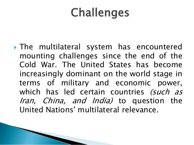 the power of multilateralism The role of multilateralism: germany's 2+4 process and its relevance for the korean peninsula1 major powers in north east asia, china, japan and russia.