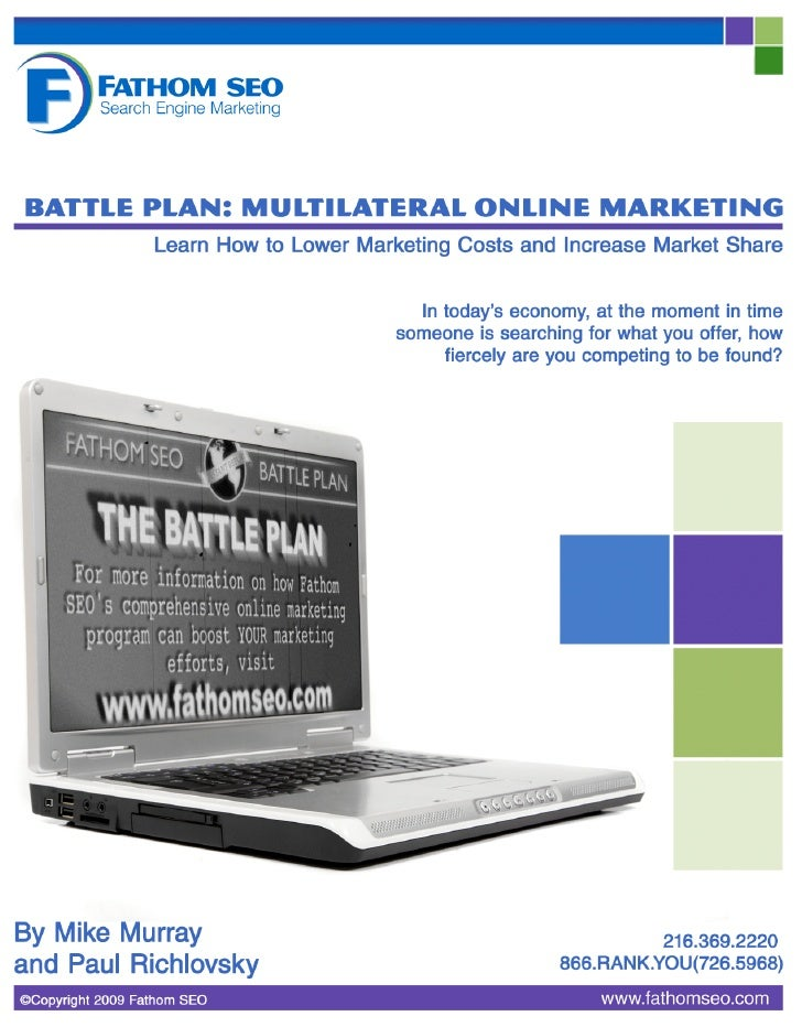 Battle Plan: Multilateral Online Marketing – Fathom SEO    Battle Plan: Multilateral Online Marketing  Learn How to Lower ...