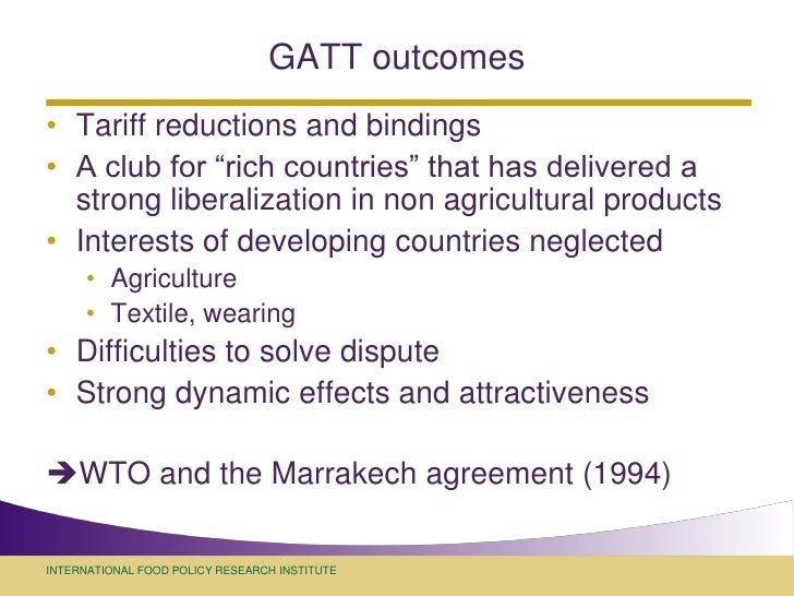 the gatt years from havana to Developing multilateralism: the havana charter and the fight for the  such issues had affected the negotiations, in the years immediately  in world trade that took place under the auspices of gatt at the same time, the havana charter's exceptions to free-trade rules, espe.