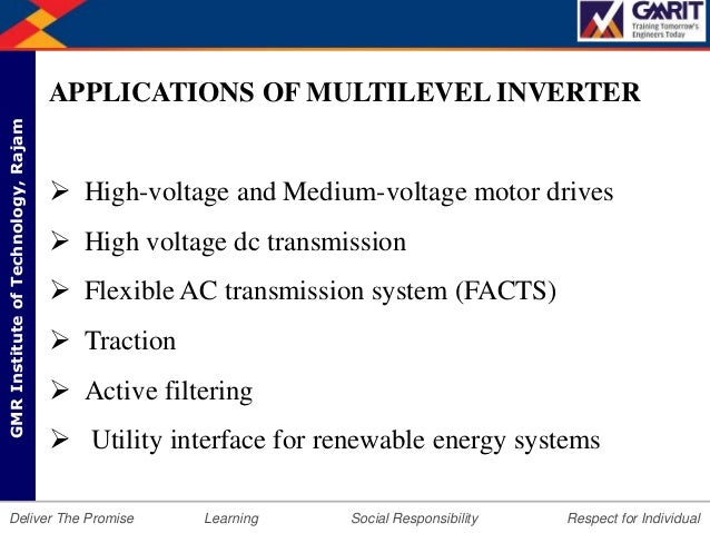 Diode clamped multilevel inverters.
