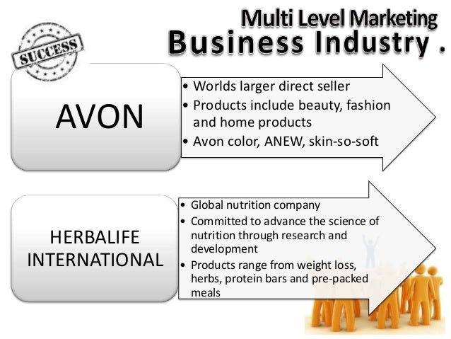 Quality Control Issue On Multi Level Marketing Business