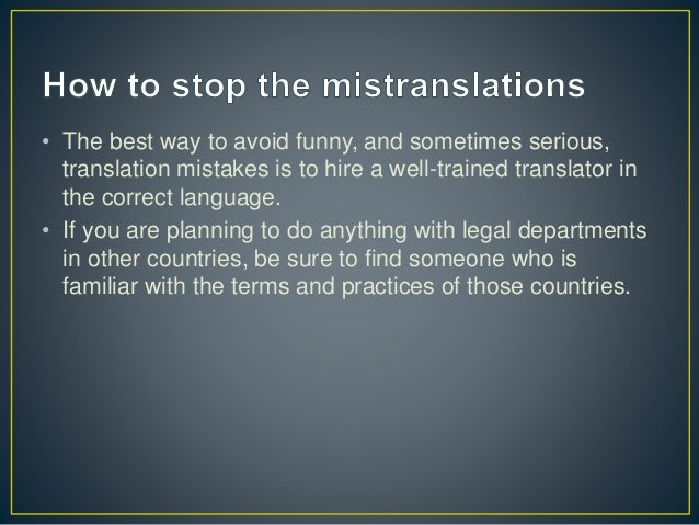 English To Italian Translator Google: Lost In Translation: 8 Funny Translation Mistakes