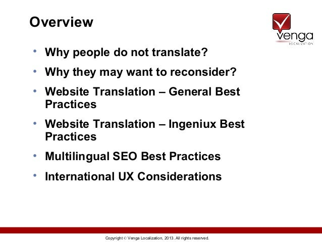 Website Translation, Multilingual SEO & International UX