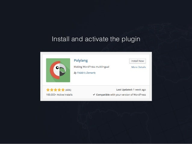 how to add polylang language switcher css