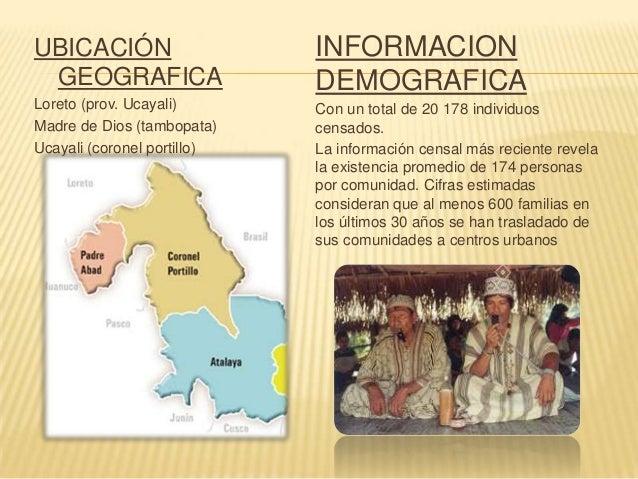   1. UBICACIÓN GEOGRÁFICA: Departamento de Loreto: Provincia de Alto Amazonas Departamento de Amazonas: Provincia de Cond...