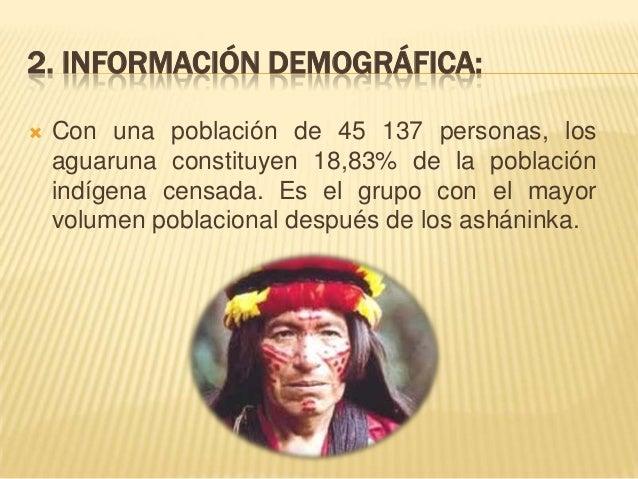 6. INFRAESTRUCTURA DE SERVICIOS:   Entre la población aguaruna de cinco años y más se presenta 39% de población analfabet...