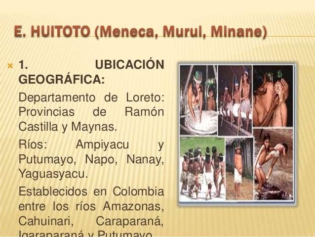 """4. ORGANIZACIÓN SOCIAL:   Los huitotos se encuentran distribuidos en el territorio del grupo en casas multifamiliares o """"..."""