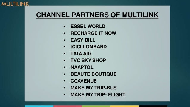 Multilinkworld We Are Into Travel Amp Utility Services