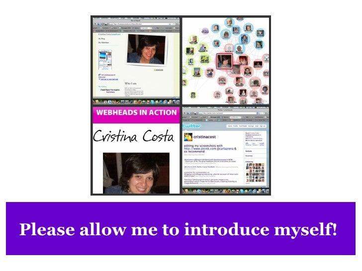 Blogging, microblogging and podcasting Slide 2