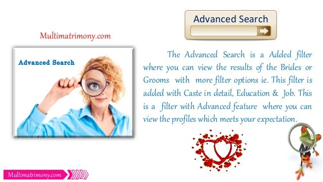 Expectation about life partner in matrimony
