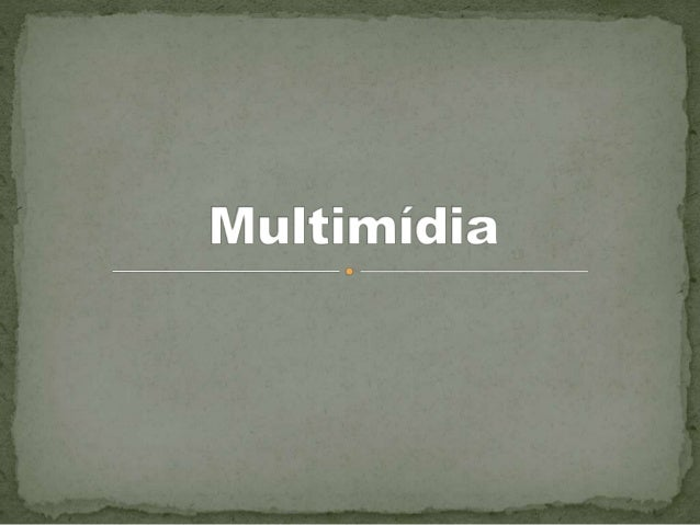  Quando se afirma que a apresentação ou recuperação da informação se faz de maneira multi-sensorial, quer- se dizer que m...