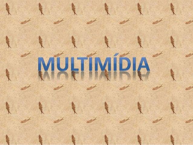 • O conceito de multimídia pode ser definido como a utilização de diversificados meios para a  divulgação da mensagem.  • ...