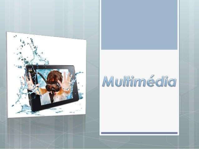 O termo multimédia refere-se a tecnologias com suporte digital para criar, manipular,                             armazena...