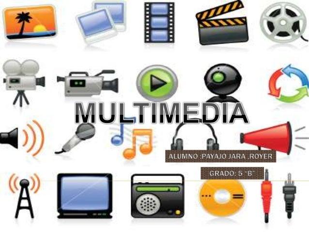 MULTIMEDIA                        Termino utilizado                      Para las aplicaciones                          in...