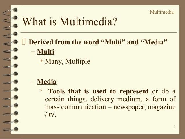 Multimedia Slide 3
