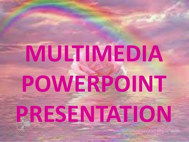 How to create a multimedia powerpoint presentation youtube.