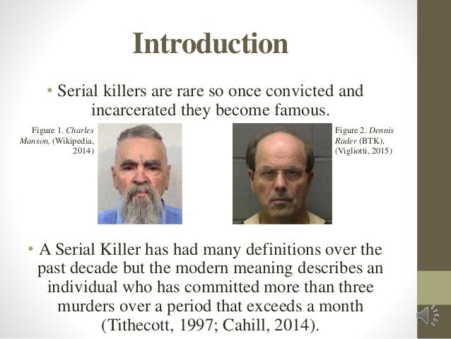 what makes a serial killer essay