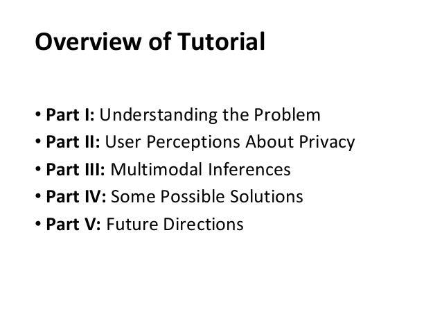 Multimedia Privacy Slide 3