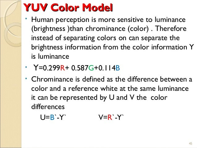 Multimedia color in image and video