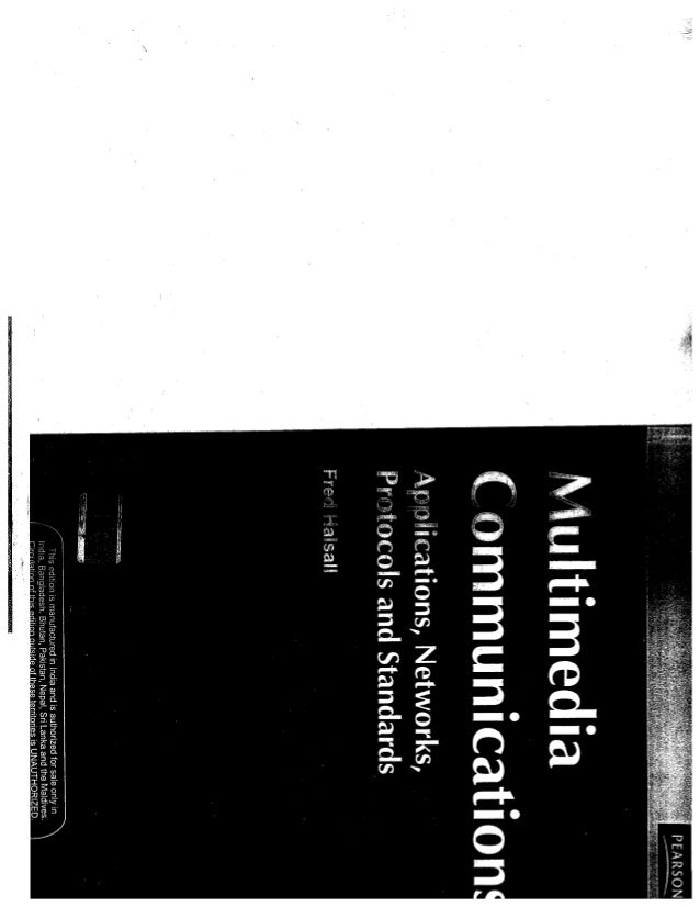 multimedia communication by fred halsall ppt