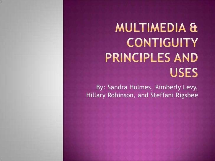 By: Sandra Holmes, Kimberly Levy,Hillary Robinson, and Steffani Rigsbee