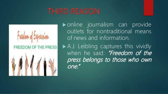  The coming of the computer and the internet has also added some distinctiveness to journalism as a profession, making it...