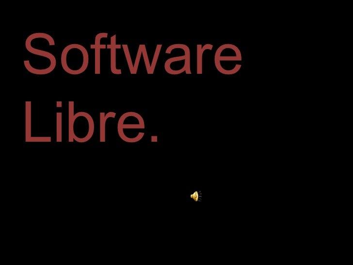 SoftwareLibre.