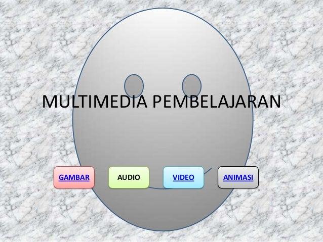 MULTIMEDIA PEMBELAJARAN  GAMBAR  AUDIO  VIDEO  ANIMASI