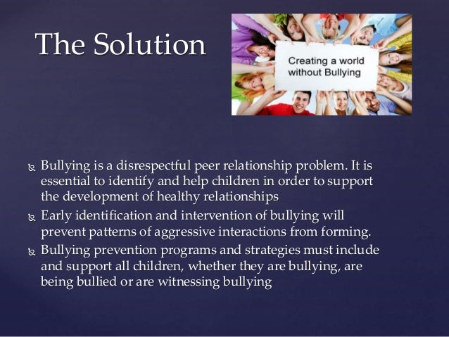 cyber bullying problems and solutions