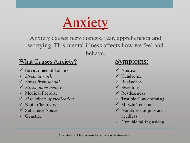 causes and effects of mental illness A brief overview of mental health problems and causes, and the impact of mental health problems on family relationships and dynamics.