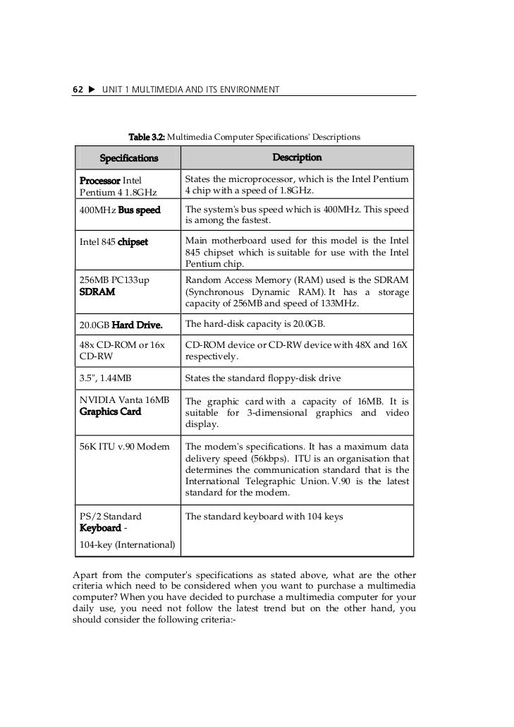 proposed computer specifications with description Need help writing a proposal writer job description use this proposal writer description sample from monster and post your job today.