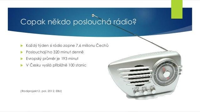 Multimediální rozhlas (prezentace na TV CON 2013) Slide 2