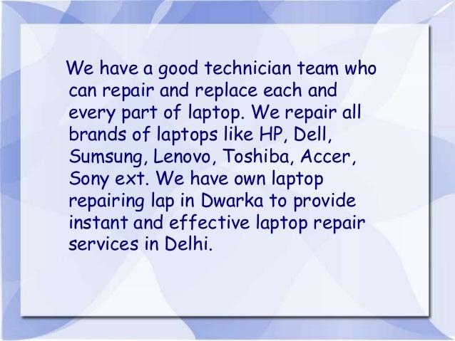 Laptop Repair Service Center in Delhi Dwarka – Laptop Repair Technician