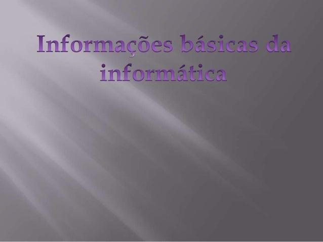  O que é Bit e Byte:   Bit é a sigla para Binary Digit, que em português significa dígito binário, ou seja, é a menor u...