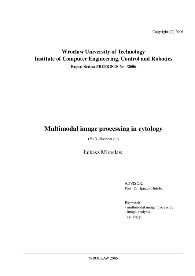 Copyright (C) 2006             Wrocław University of TechnologyInstitute of Computer Engineering, Control and Robotics    ...