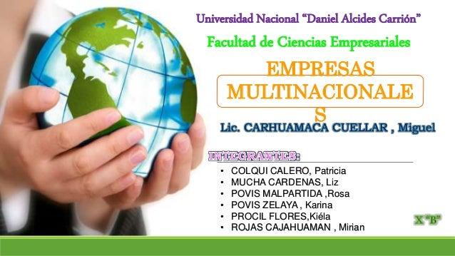 • COLQUI CALERO, Patricia • MUCHA CARDENAS, Liz • POVIS MALPARTIDA ,Rosa • POVIS ZELAYA , Karina • PROCIL FLORES,Kiéla • R...