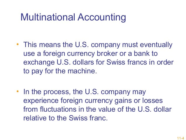 International Accounting. Multinational Corporations and Accounting Diversities
