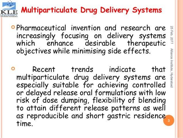 Multiparticulate drug delivery systems Slide 3